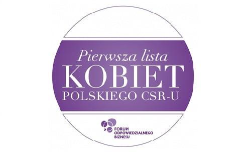 Prezeska naszego Instytutu na Liście 50 Kobiet Polskiego CSR w Polsce!